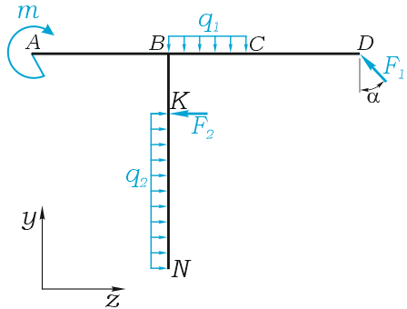Решения задач по сопромату на рамы алгоритм евклида задачи решение